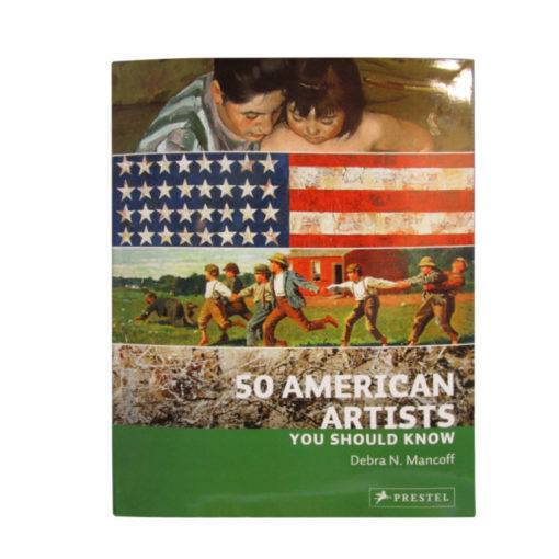 50 American Artists You Should Know Book