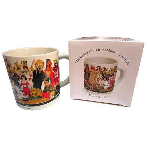 A Brief History of Art Mug 16 oz.
