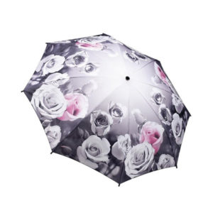 Antique Rose Folding Umbrella