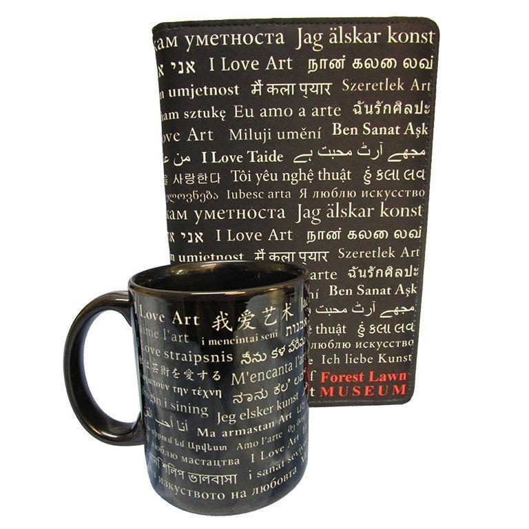 "11 oz. Art Mug and 5 7/8″ x 3 ¾"" Journal Set"