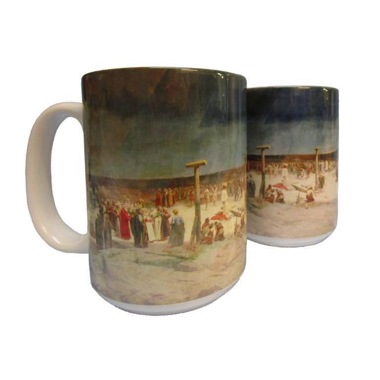 15 oz. Crucifixion Mug