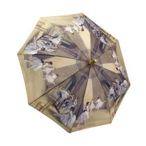 Degas Ballerinas Umbrella 34″