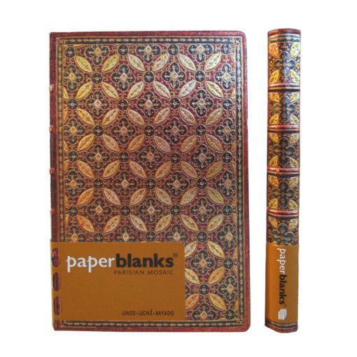 Mosaiique Safran Mini PaperBlanks Journals