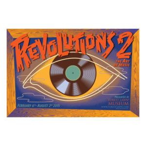 "Revolution 2 Poster 24″ x 16 ½"""