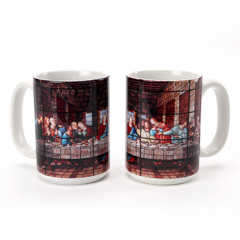 The Last Supper Window Mug 15 oz.