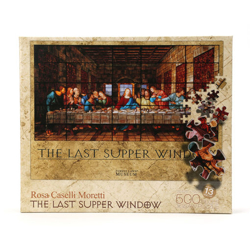 The Last Supper Window 500 Piece Puzzle