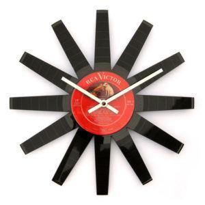 Revolutions 2 12″ Vinyl Clock