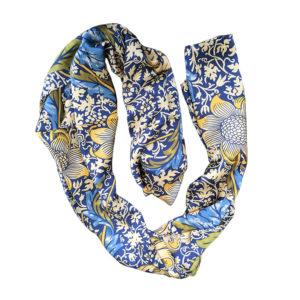 William Morris inspired design on scarf