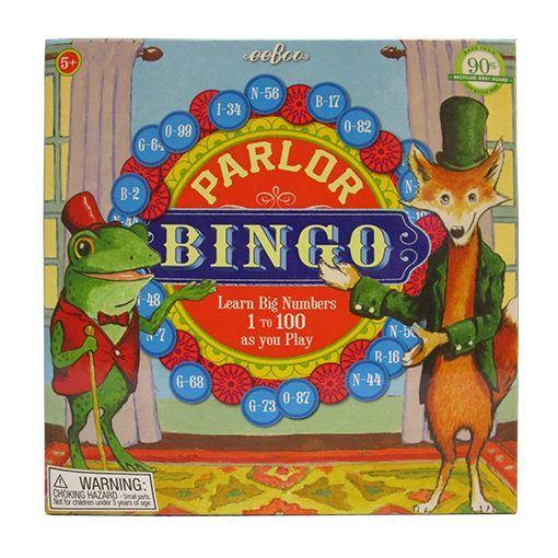 Parlor Bingo set