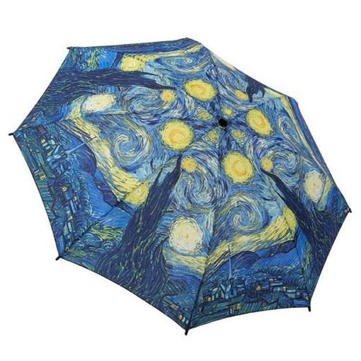 Starry Night printed umbrella