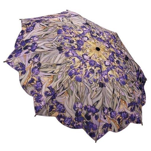 Van Gogh Irises printed umbrella