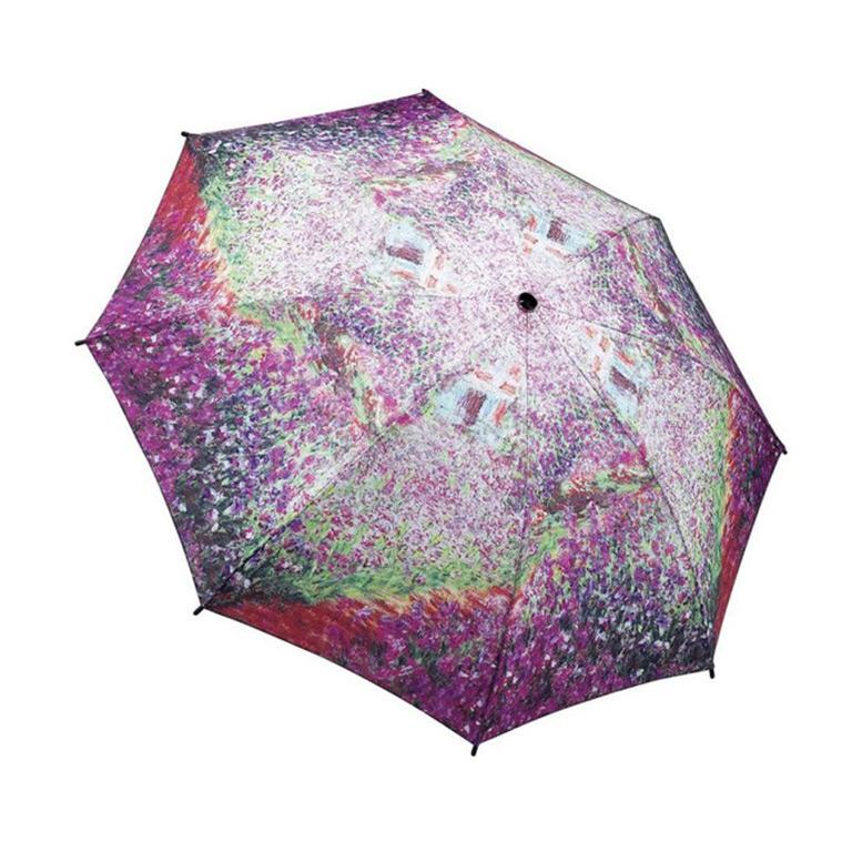 Monet's Garden printed umbrella
