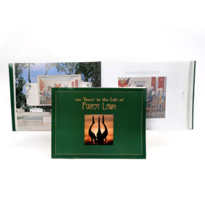 100 Years in the Life of Forest Lawn Book