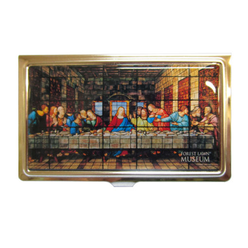 The Last Supper Wundow Business Card Holder