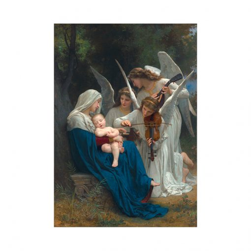 Song of the Angels Litho-Poster